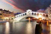 Benátky - Most Rialto a Canal Grande
