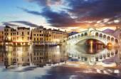 Most rialto, Benátky. Itálie