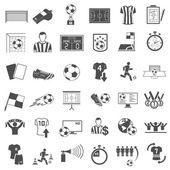 Fotbalové ikony nastavit