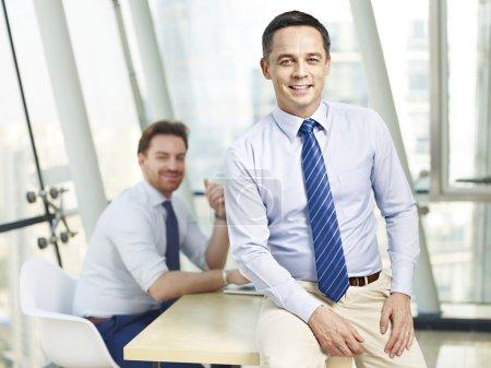 successful corporate businessman