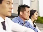 ázsiai üzletemberek