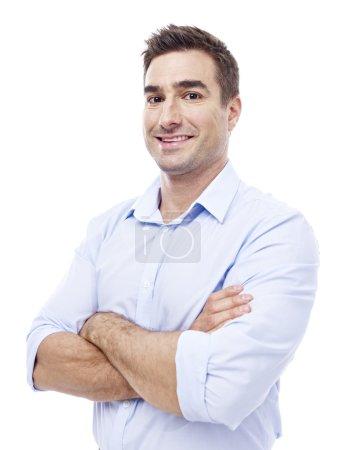 Portrait of a caucasian businessman