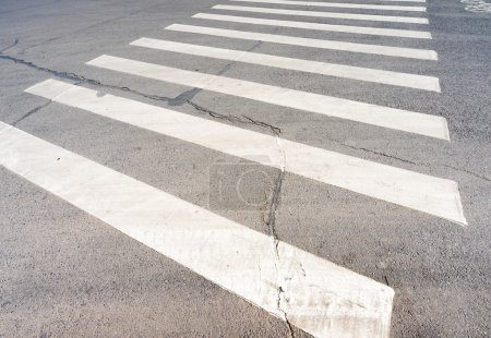 crosswalk on asphalt road