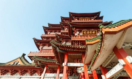 Traditional ancient Chinese architecture