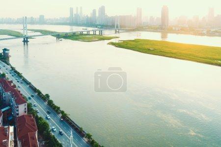 Panoramic picture of China nanchang