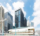 modern building of the lujiazui