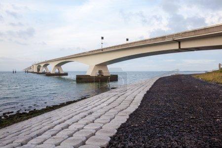 bridge over the sea