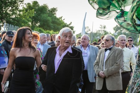 actor JeanPaul Belmondo on opening