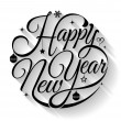 Happy new year card. Vector illustration. Can use ...