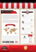 Business printing template
