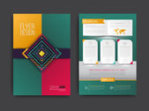 Vector brochure flyer magazine cover and poster template Vector illustration