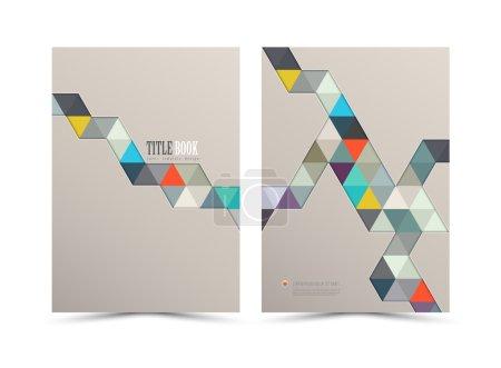 Annual report cover design.