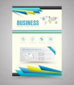 Vector design template printing.