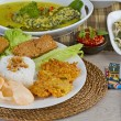 Постер, плакат: Indonesian lunch