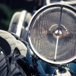 Постер, плакат: Vintage headlight