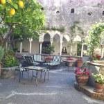 Italian Courtyard...