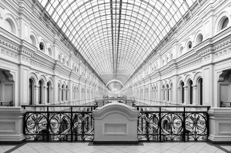 Classical architectural interior