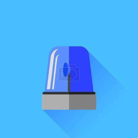 Blue Siren Icon
