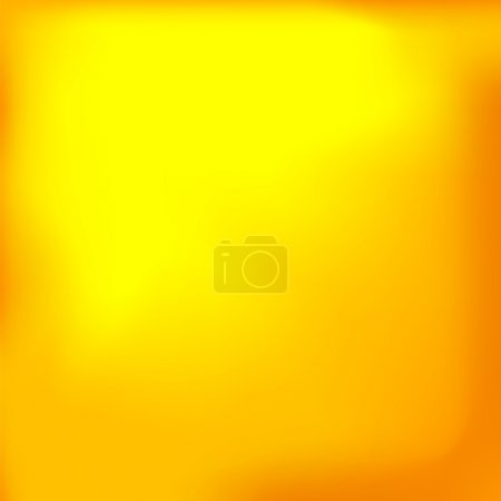 Illustration for Abstract Yellow Background gor Your Template. Yellow Pattern - Royalty Free Image