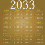 Постер, плакат: The Calendar 2033