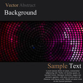 Business background banners with circles elements over dots pattern background vector illustration