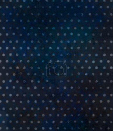 Black polka dots pattern