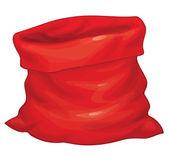 Vector Santa Claus bag