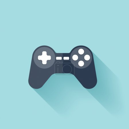 Flat joystick icon.