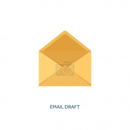 Vector illustration. Envelope icon. Letter, email. Message and communication.