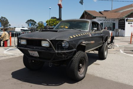 Ford Mustang postapocalyptic survival vehicle
