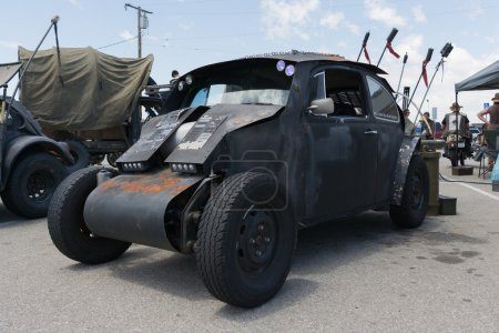 Volkswagen Beetle postapocalyptic survival vehicle