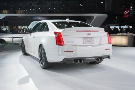 Cadillac ATS Coupe car on