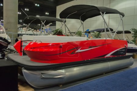 Escape RT 2000 boat on display