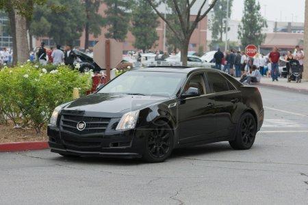 Cadillac CTS car on display