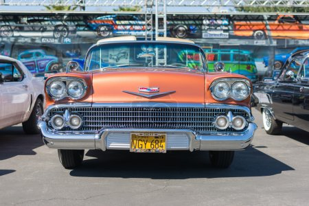 58 Chevrolet Impala Coupe on