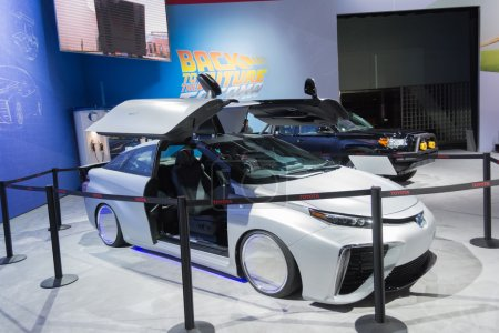 Toyota Mirai Back To The Future edition