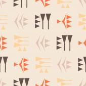 Seamless background with cuneiform