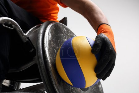 Sport in a wheelchair
