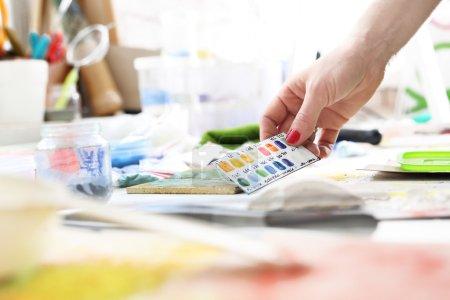 Color palette, color picker