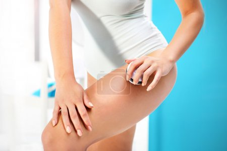Anti cellulite massage.