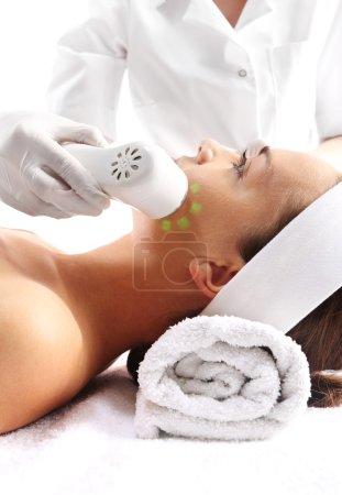 Loss of skin density  Ultrasound beauty treatment