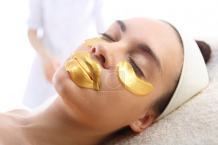 Gold mask collagen hydrogel, cosmetic surgery