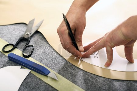 Preparing a tailor template