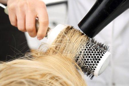 Modeling hair brush