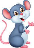 Glücklich Maus-cartoon