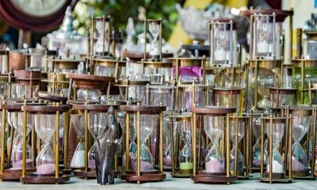 Various hourglasses