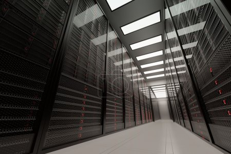 Big Data Servers Room