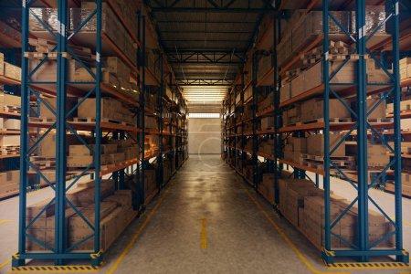 Big Warehouse interior