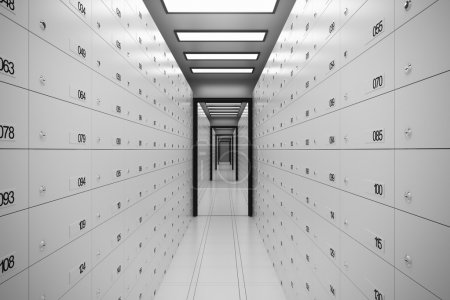 Security Safe Lockers. Money Wealth Secure