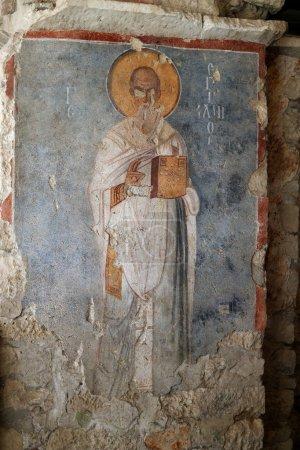 Frescoes Church of St. Nicholas.